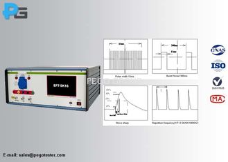 0~5KV EMC Test Equipment , Electrical Fast Transient Test Burst Generator 1~255 Impulse Adjustable