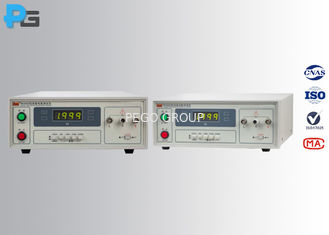 Insulation Resistance Electrical Safety Test Equipment High Precision 500KΩ- 2GΩ Range